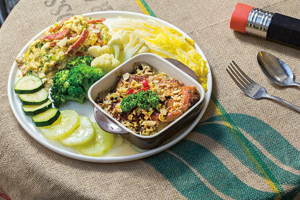 「噶瑪蘭香煎豬排」心臟病、三高也能吃!「純淨廚房」打造適合你的飲食方式