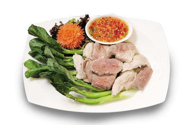 泰式香草豬沙拉