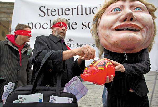 布蘭登堡門示威