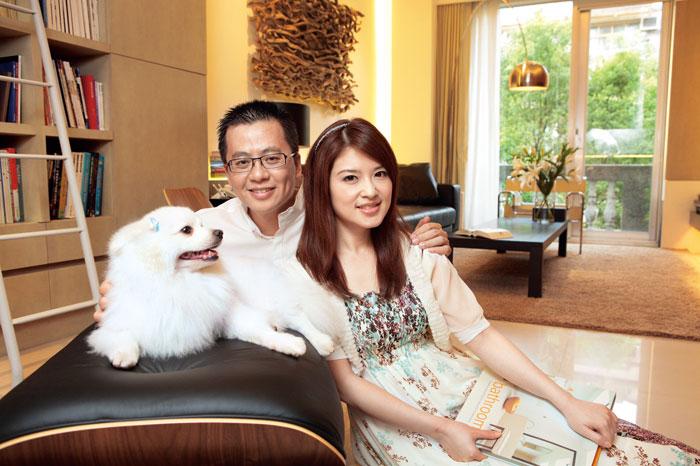 陳海茵夫妻