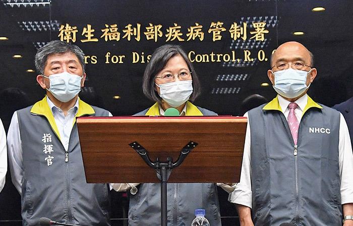 中央流行疫情指揮中心提供