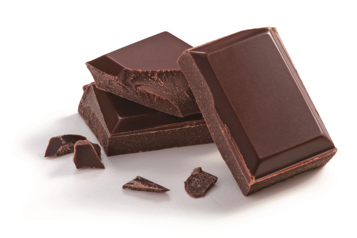 黑巧克力。