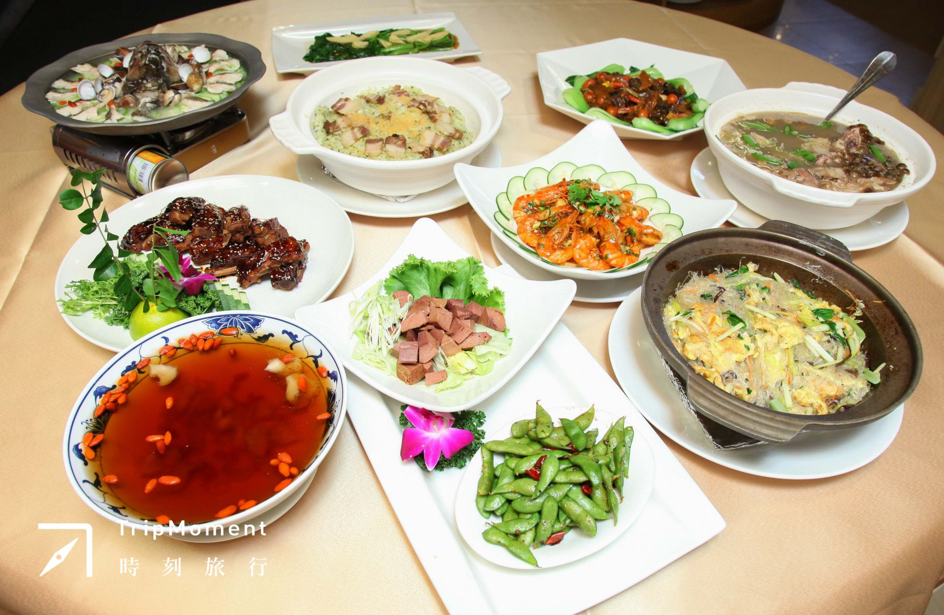 貴為行館不能不好吃的蔣氏家常宴。