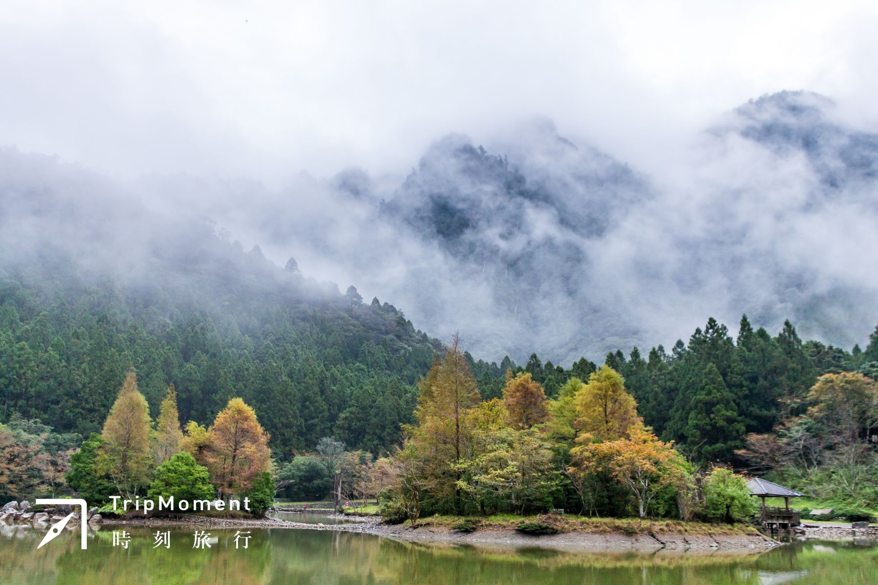 明池森林遊樂區裡的明池,又稱池端,再響亮一點名字是北橫明珠。