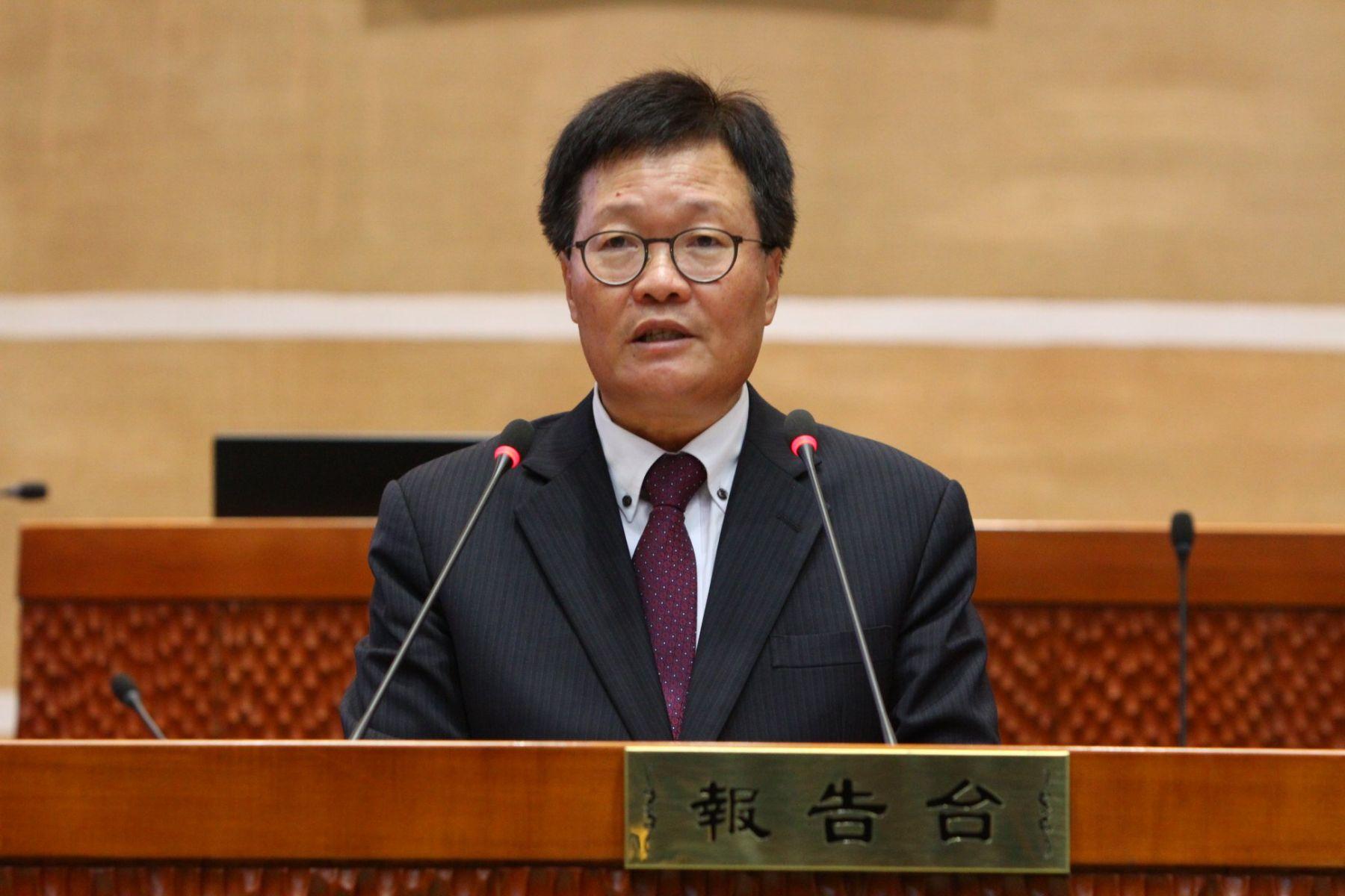 任職高雄市府期間違法兼職 陳金德遭監察院彈劾