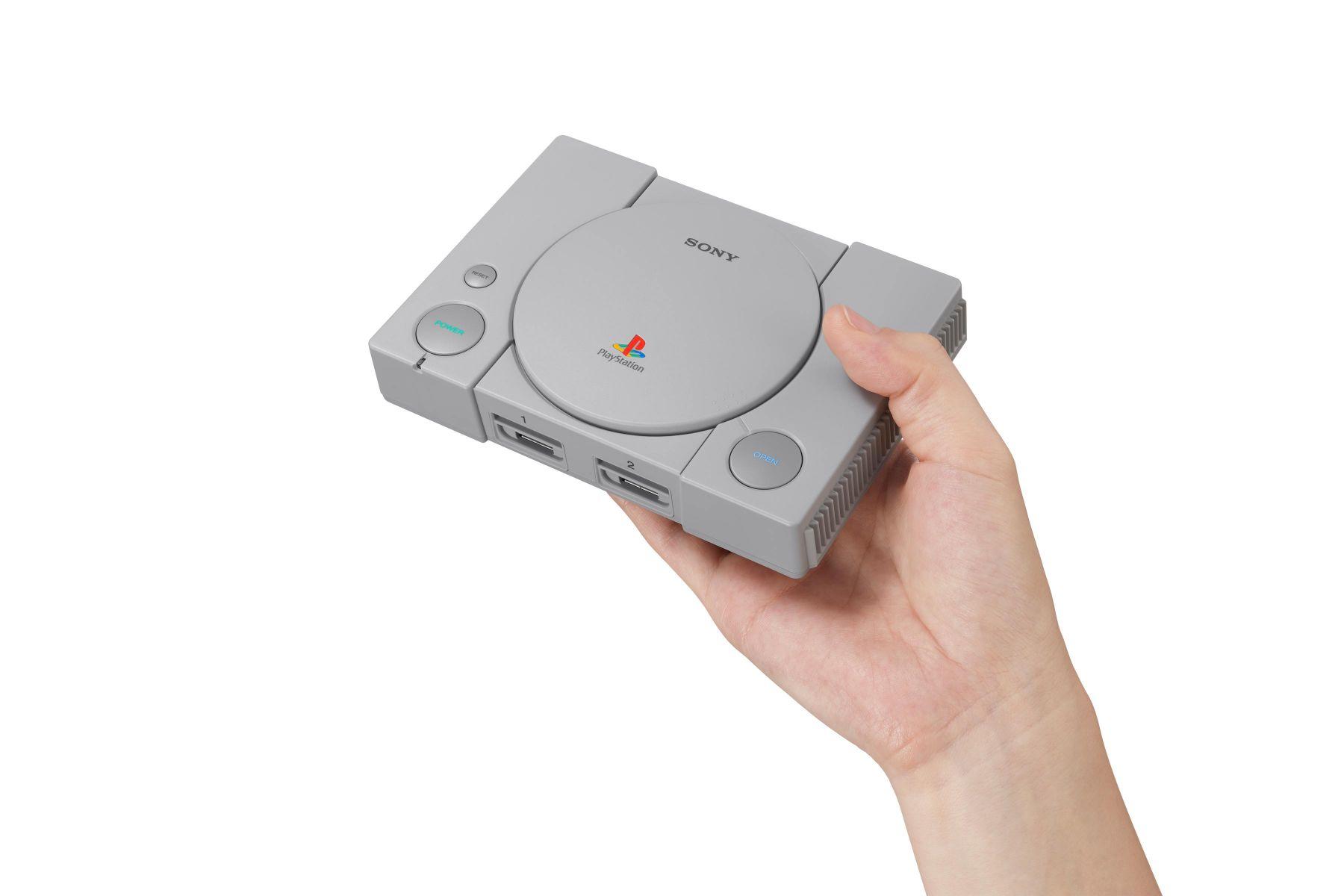 復刻「時代的眼淚」 Sony推迷你PS年底上市