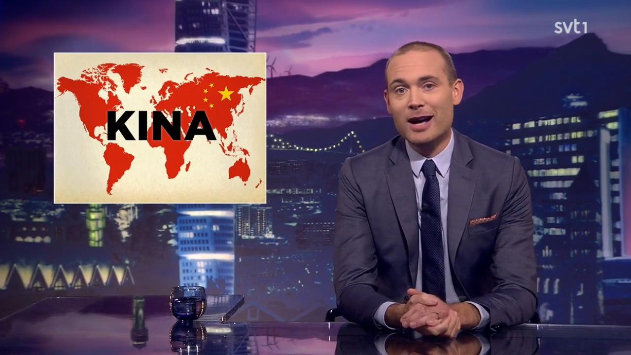 「辱華」風波未平 瑞典節目再槓中國嗆「全世界都你的」