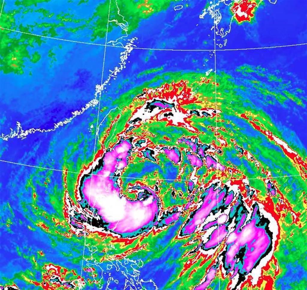 圓規颱風超大環流下午發威 北部、東半部迎強風豪雨