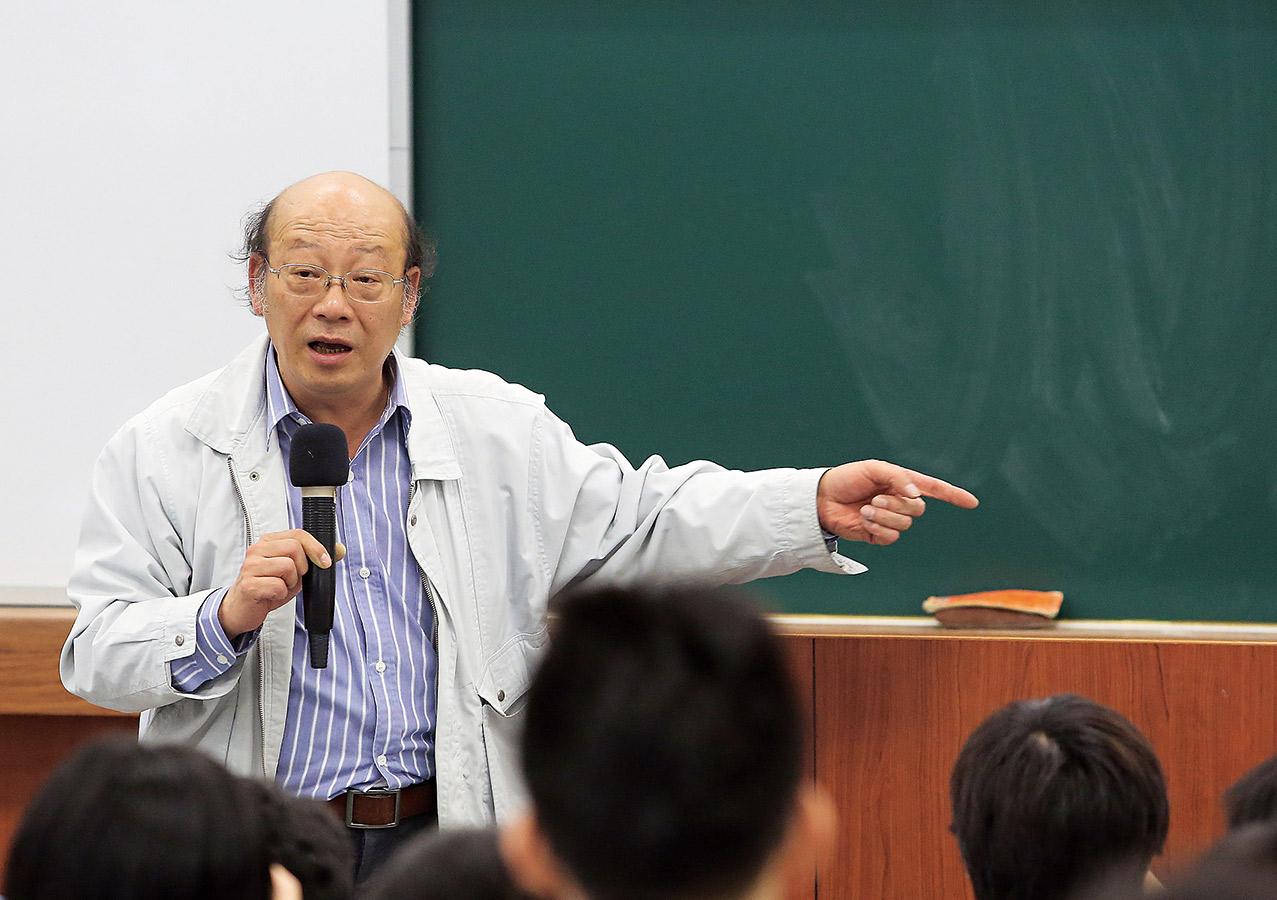 台大教授李茂生