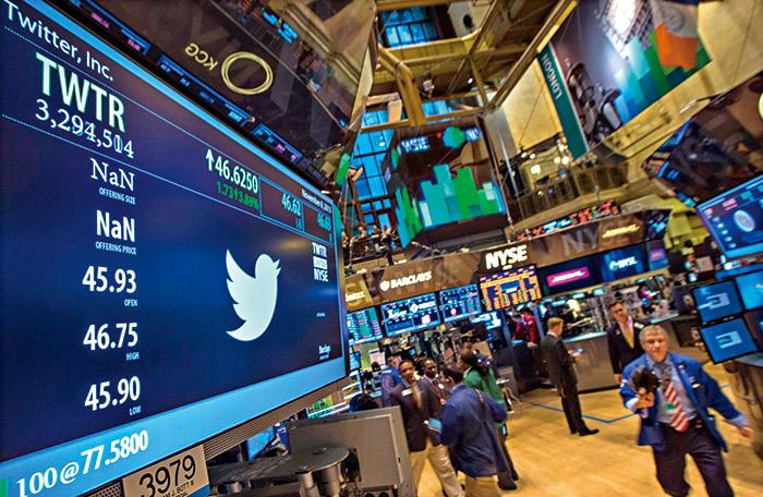 Twitter雖然成功掛牌,但營運持續虧損,市場擔心會不會重演泡沫?