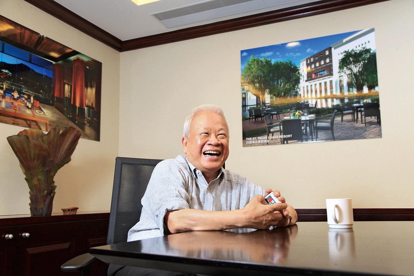 今年郭炎不僅擔任國泰金控董事,並重返香港中信集團接掌董事會主席,震撼兩岸三地商場。