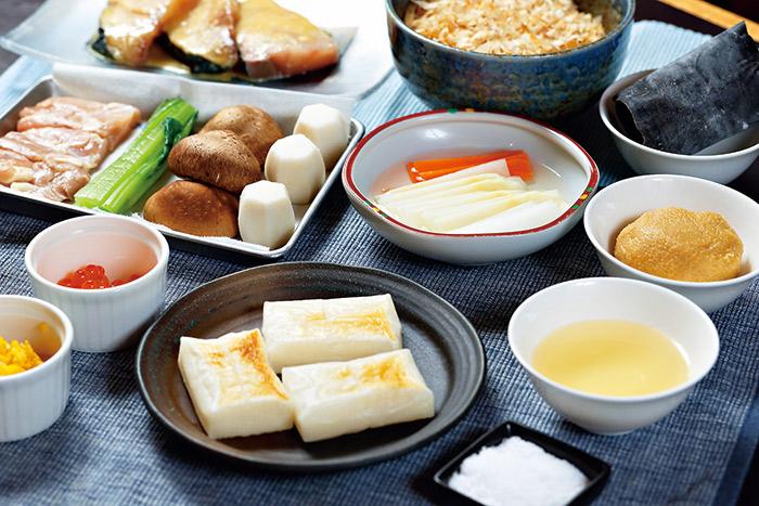 日本家庭過年備料平實簡單,講究配色。