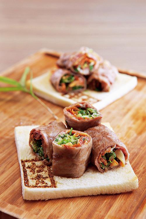 港星鄭秀文最愛的「牛肉薄燒」,料豐味美。