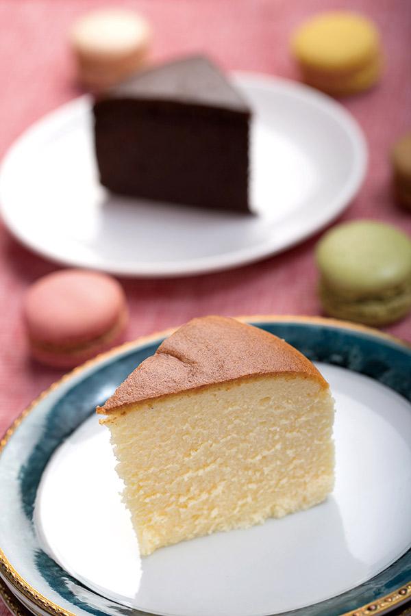 林三賀的甜點有在法國師承的技術,也有到日本學到的精 神,原料不偷懶、製作不馬虎,呈現單純的味道。