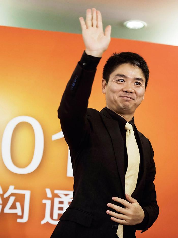 京東商城董事長  劉強東