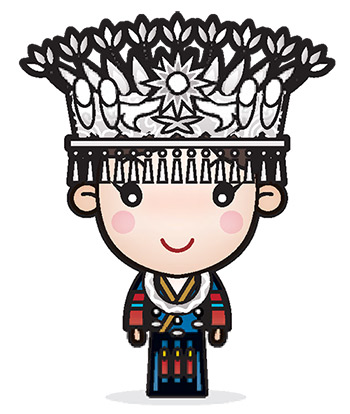馬克為中國少數民族畫的人物,從未在部落格 與台灣媒體曝光過。
