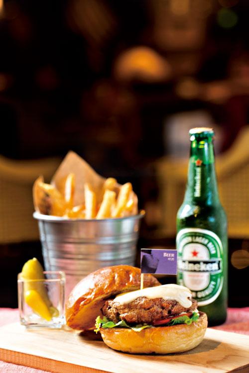 醉醺醺啤酒漢堡
