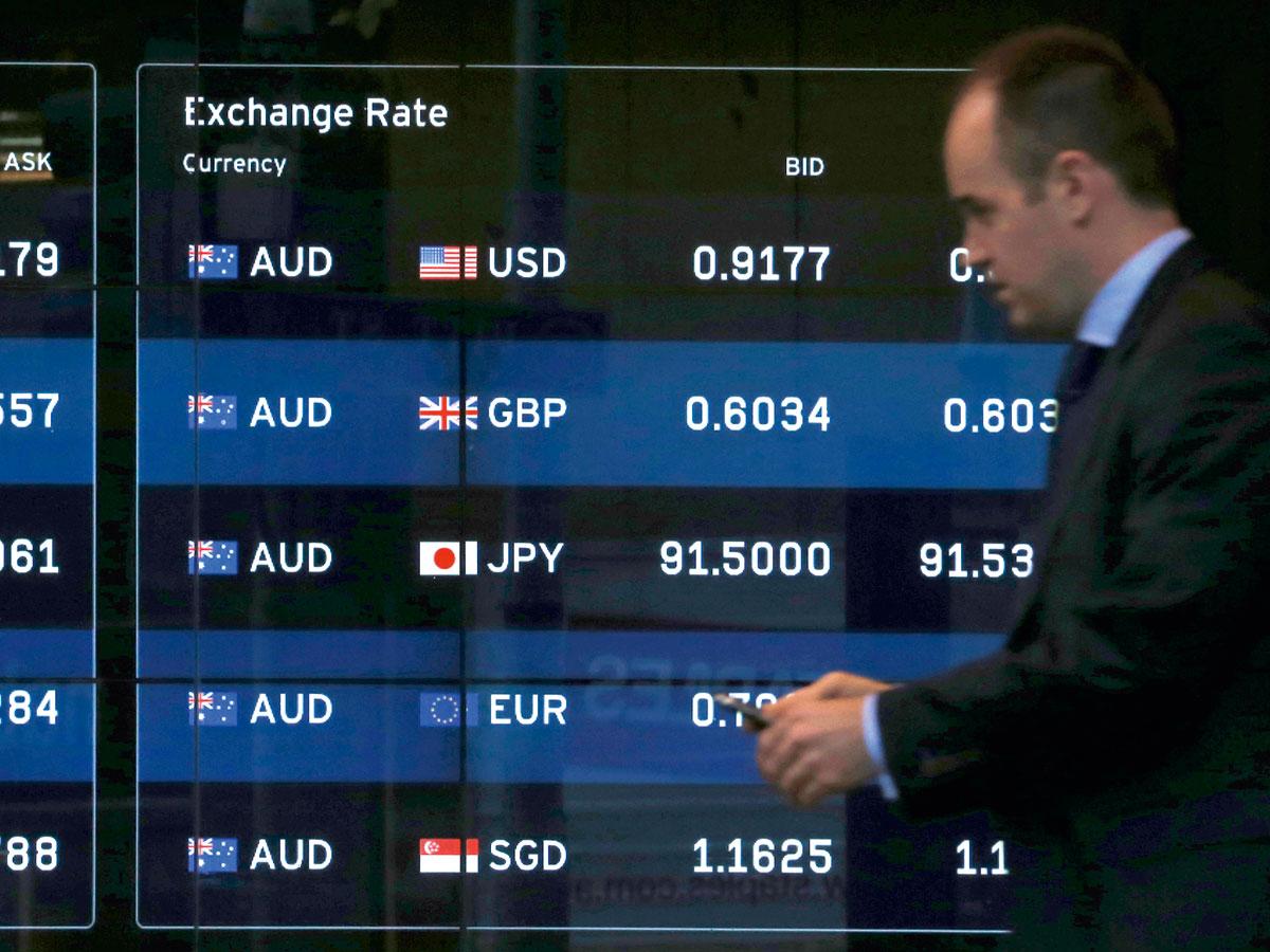 國際原物料價格大跌,讓過去市場熱門的澳幣、紐幣、加幣與南非幣出現 大貶走勢。