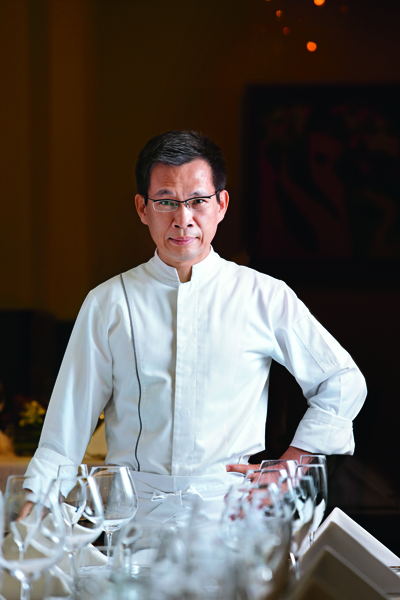 ThomasChien廚藝總監 簡天才,讓高雄的法式 料理環境提升不少。