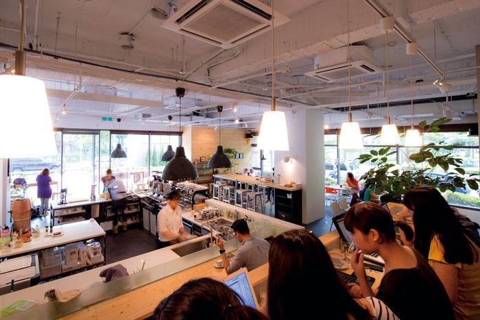 .  Fika Fika Café走北歐風氛圍,更受女性喜歡。