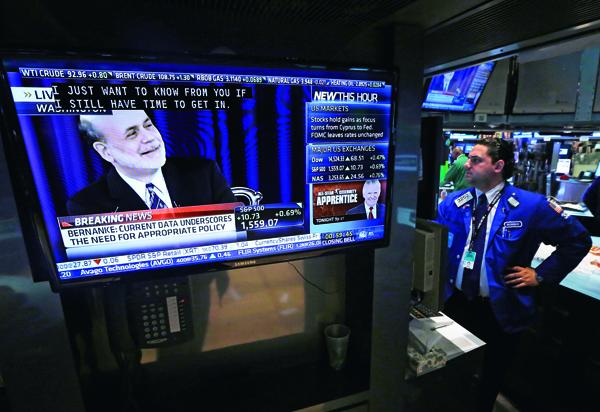 聯準會主席柏南克未來如何讓QE退出,牽動全球股市走勢。
