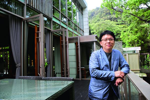 「樹也Villa」老闆李晉豪預估,未來10年台灣將出現大量的失業民宿 老闆。