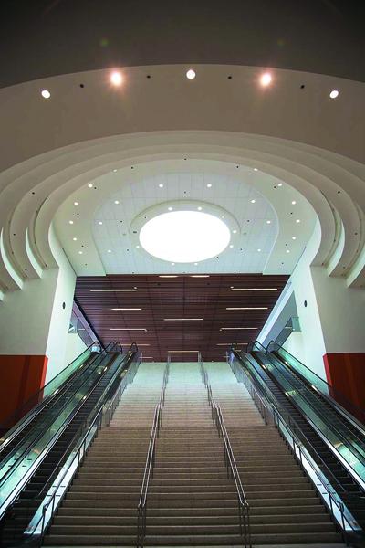 美國西岸第一座得到綠建築認證的展覽館。