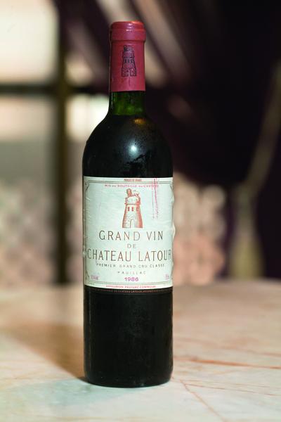 Chateau Latour 1986