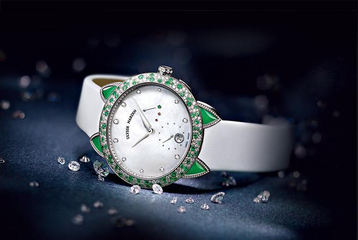 雅典錶玉玲瓏系列女錶,參考價276萬9000元。