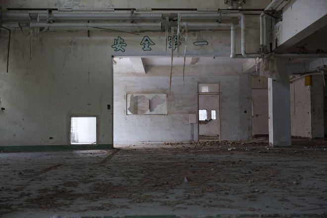 官民互訟13年 雲林縣二崙鄉乳品加工廠的廢墟光年