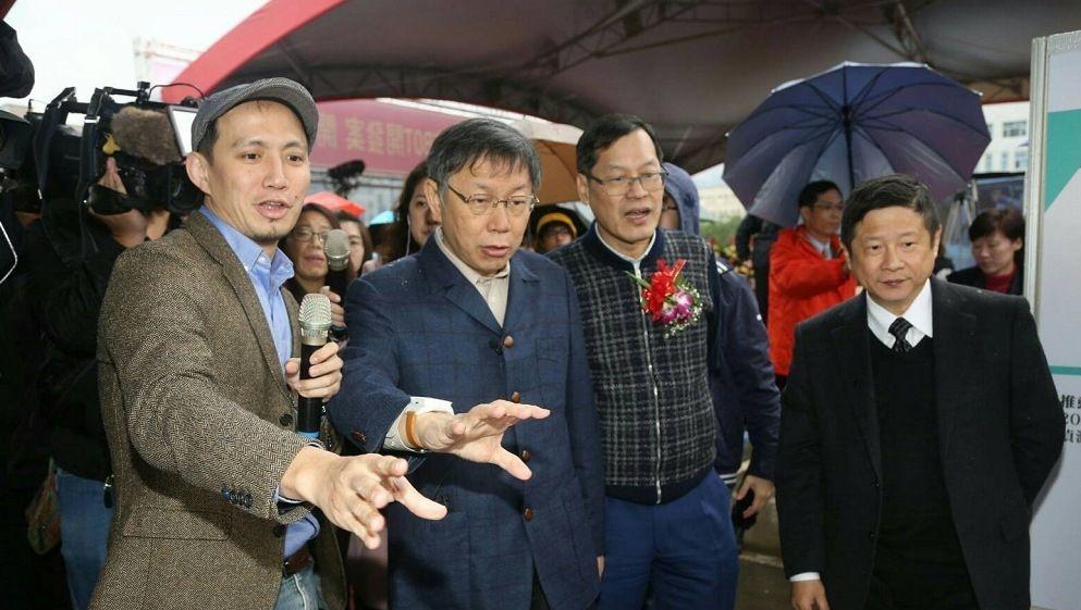 王炳忠被抓遭批白色恐怖 柯P:這個案子跟李明哲案不一樣
