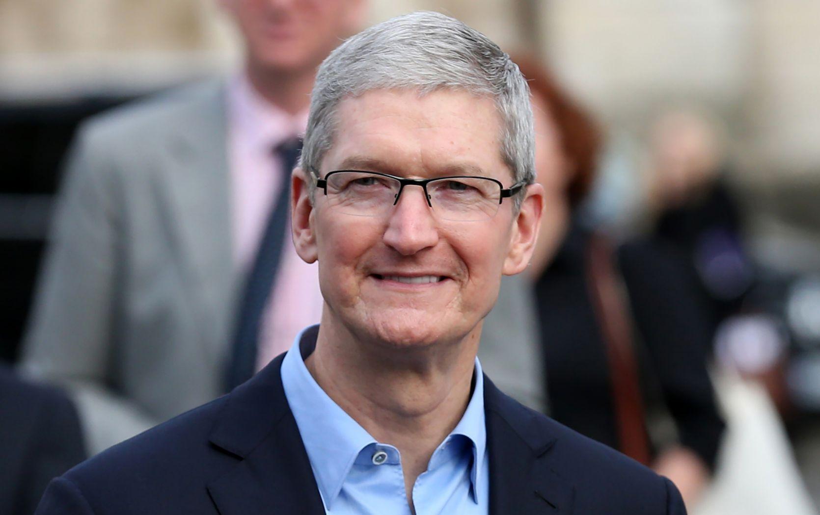 蘋果CEO庫克 2017總薪酬30億元
