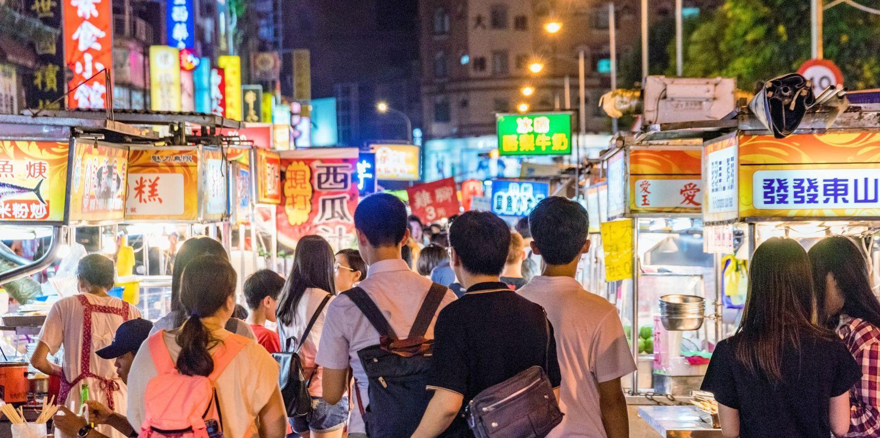 台灣夜市失去競爭力? 陸生:除了小吃攤就是賣淘寶貨