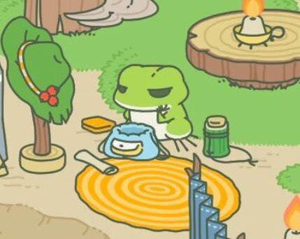 現在最火的遊戲 旅行青蛙到底在紅什麼?