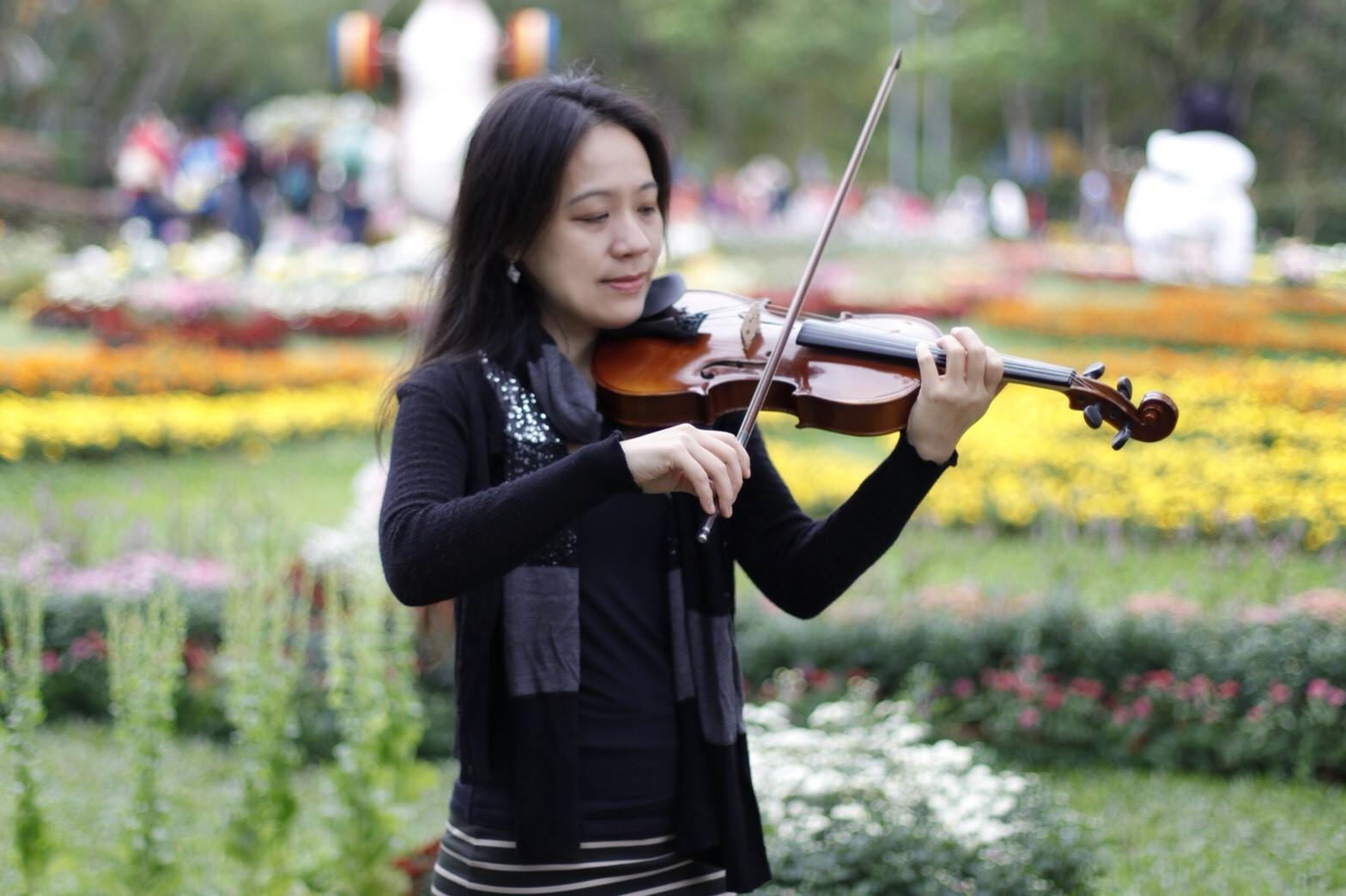 旅美小提琴家吳宜庭走出婚姻陰霾 重生音樂夢
