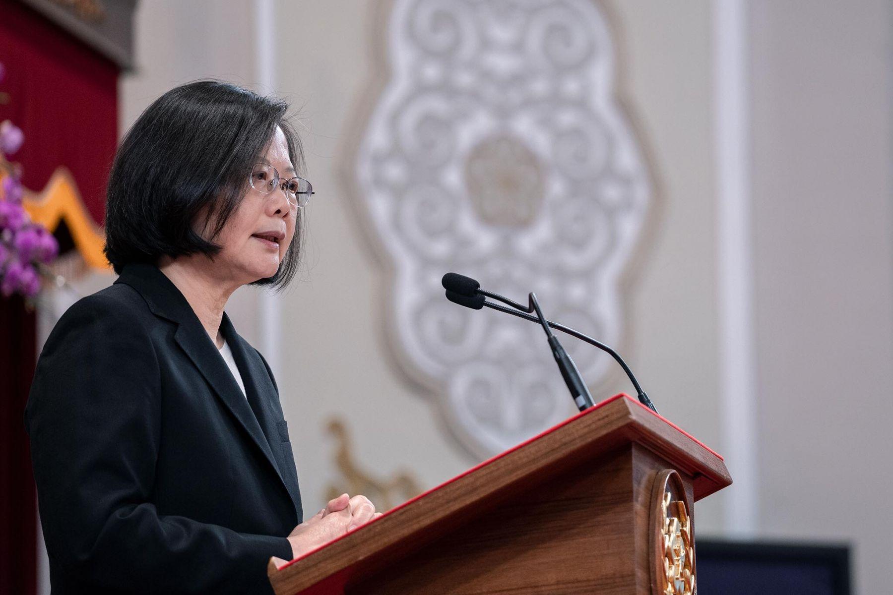 蔡英文國慶談話:台灣不會貿然升高對抗,也不會屈從退讓