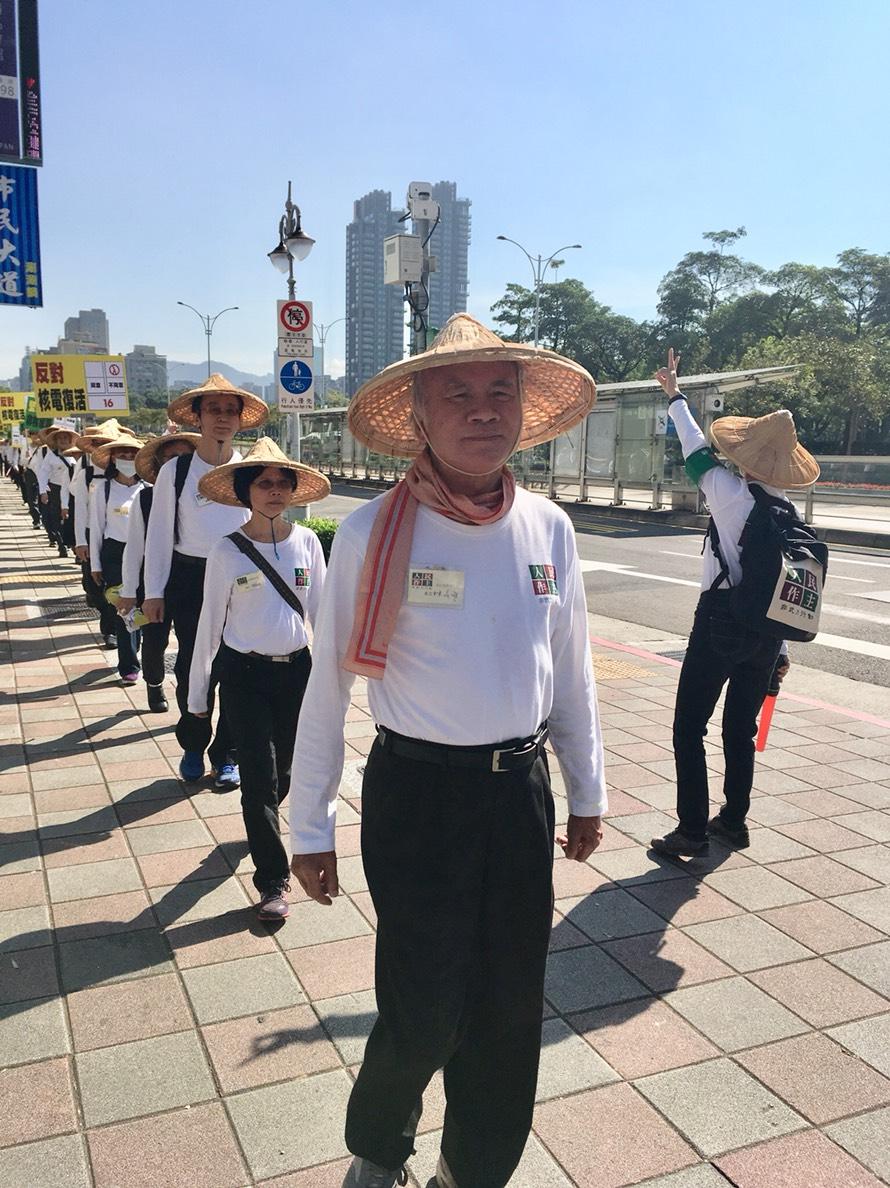 捍衛非核家園林義雄再上街頭   籲民眾反「以核養綠」