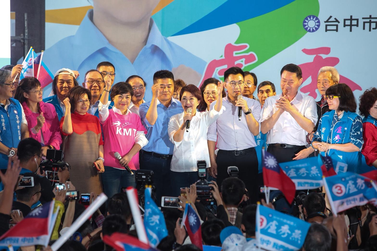 成功翻轉台中 盧秀燕:提過的政見,我絕對說到做到
