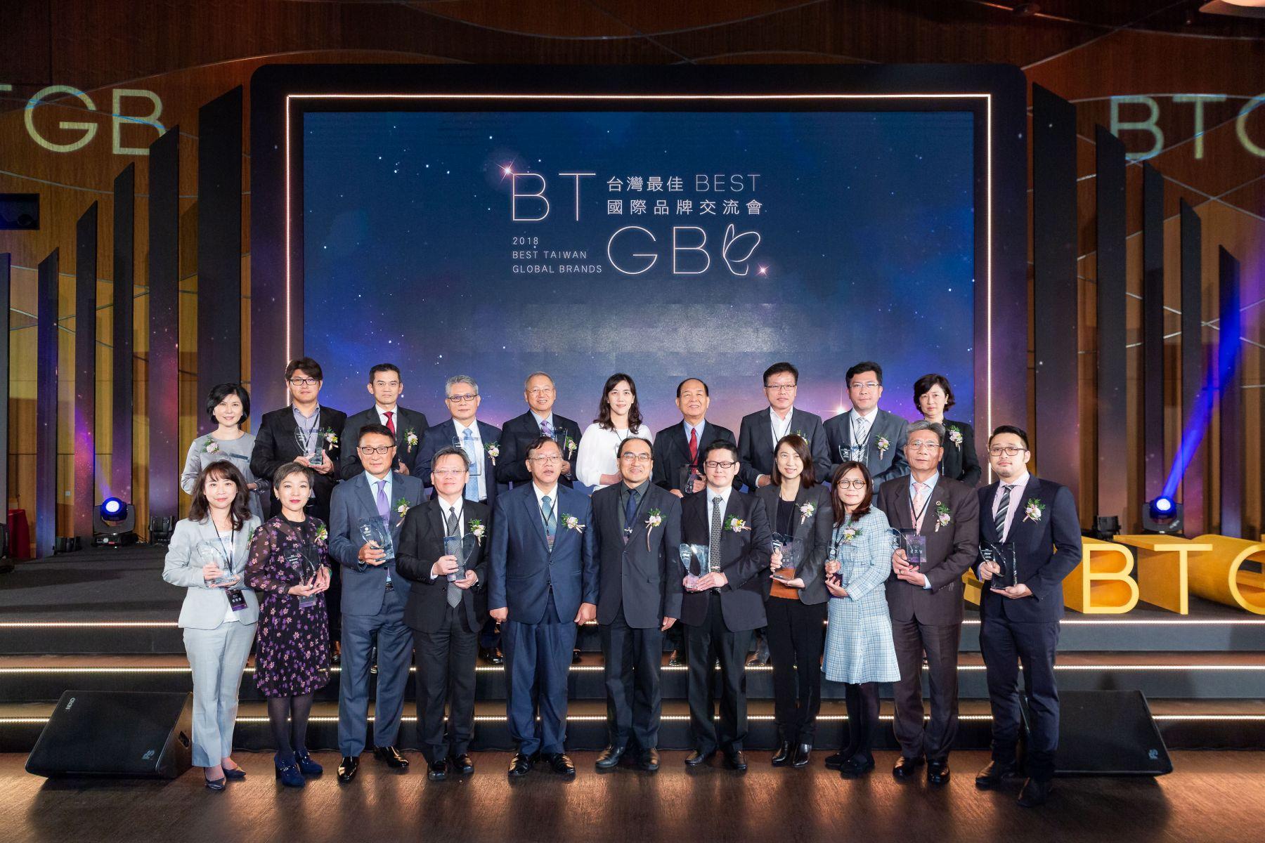 2018台灣20大品牌揭曉  華碩蟬聯冠軍6年、價值500億