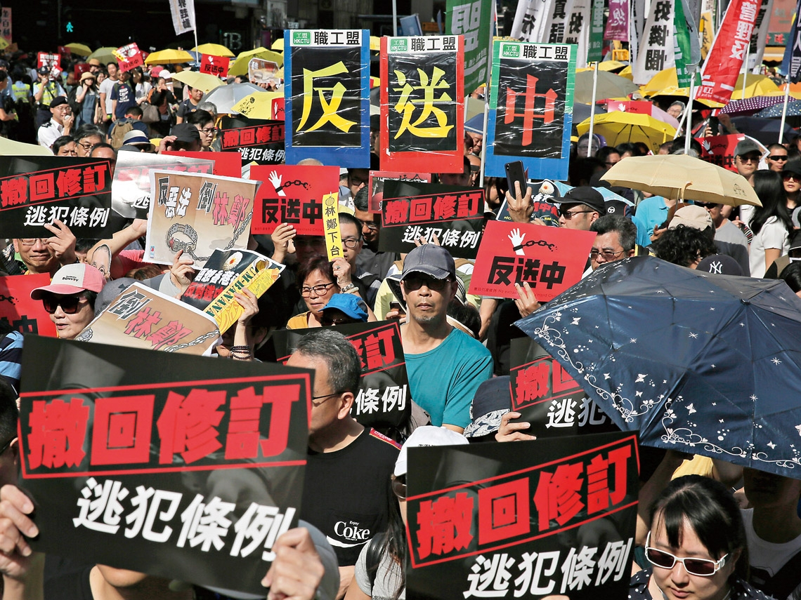 連小學生都起身連署反對修《逃犯條例》!「雨傘運動」2.0 將再現?