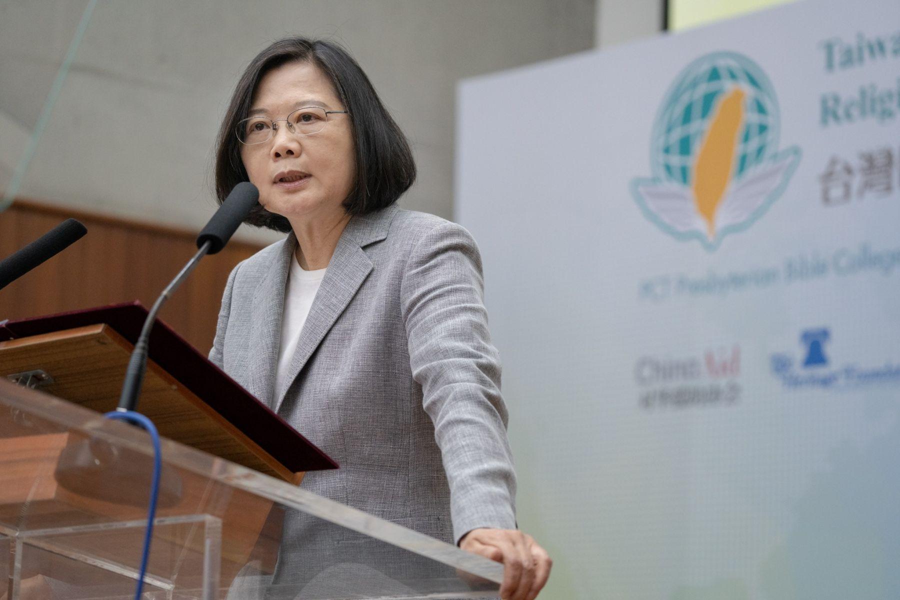 力挺香港反送中遊行 蔡英文:一國兩制不會是台灣人的選項