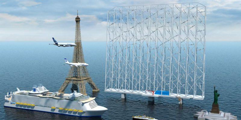 深海風電大商機》新創研發網格式風力發電機,發電功率比傳統風機高5倍
