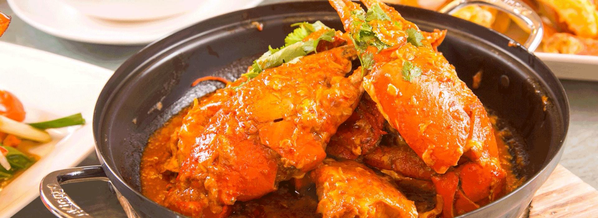 賣螃蟹賣到股票掛牌  新加坡國寶美食辣椒蟹登台
