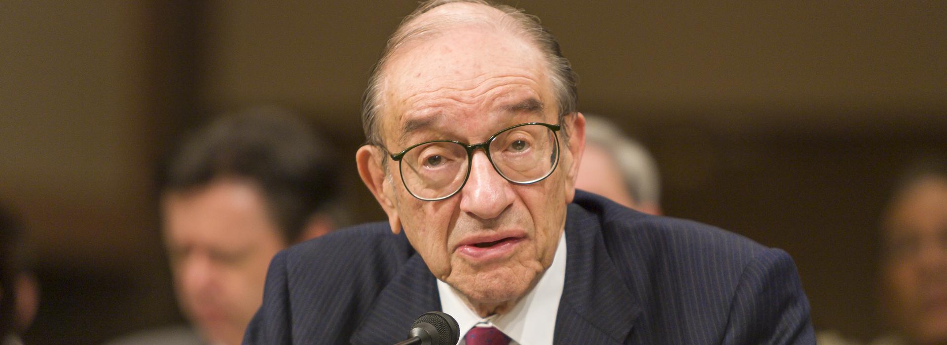 聯準會前主席葛林斯班:股債市均陷泡沫!