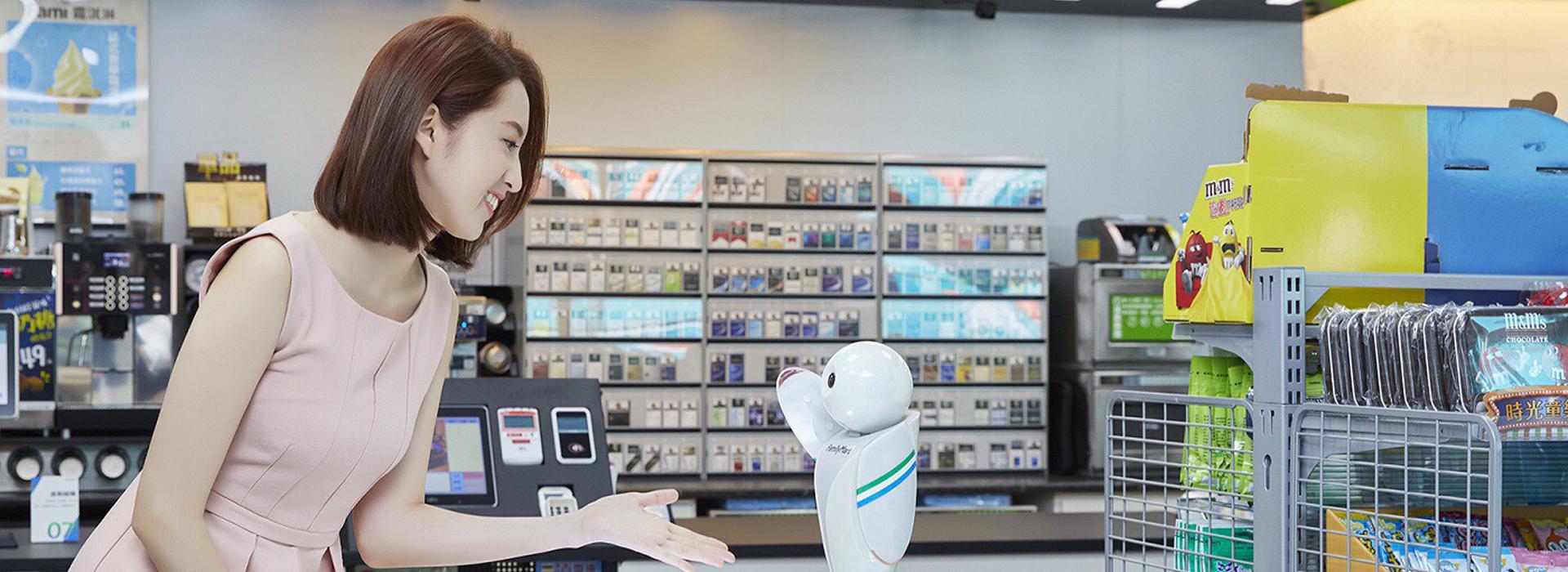 機器人做副店長、智能煮咖啡  全家科技概念店登場