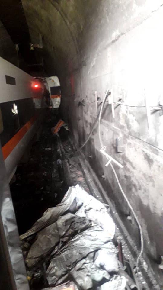 太魯閣事故》火車幾乎直接撞擊隧道  運安會曝死傷慘重的關鍵原因