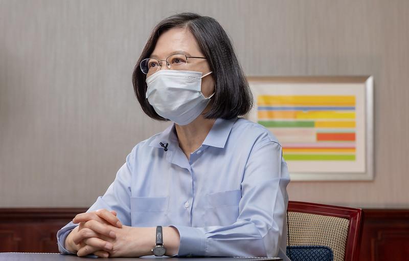 「台灣對外貿易非常重要一大步!」 台美TIFA停滯五年後將復談 蔡英文這麼說