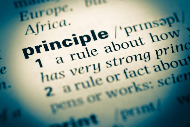 那些愛把「原則」掛在嘴邊的人...原則是拿來要求自己,不是拿來要求別人的!