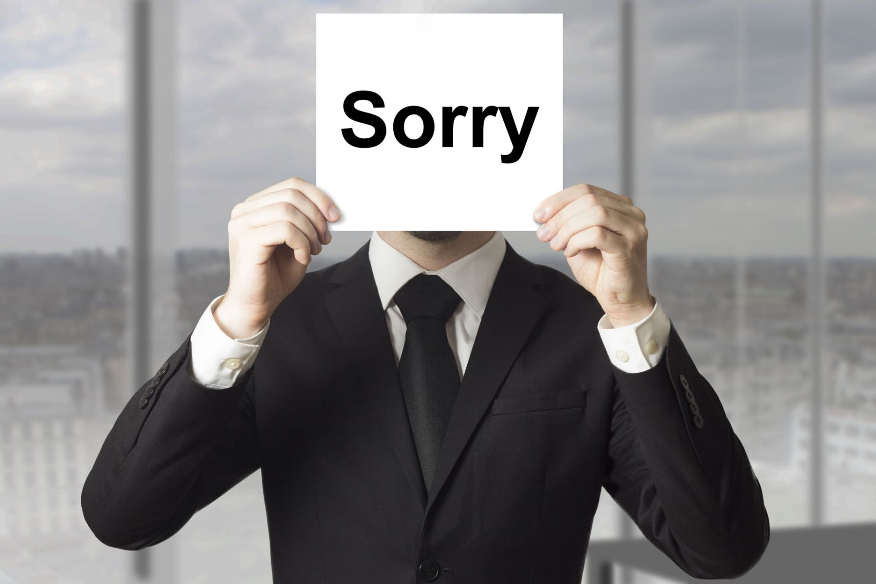 「對不起,我又遲到了!」你以為只要道個歉就過去了,但終究會誤一件大事
