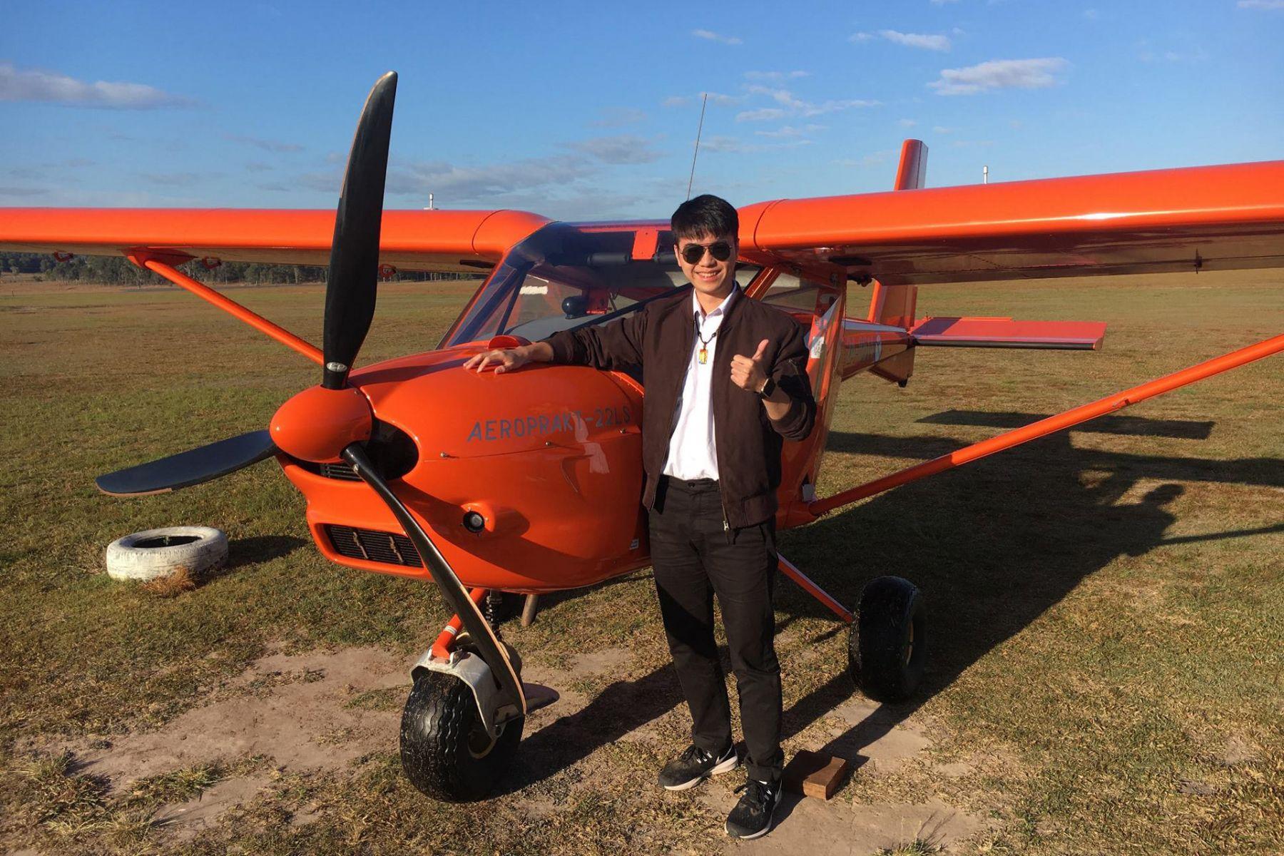 從多益590分到800分!培養英文即戰力,他的澳洲機師證照成履歷亮點